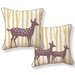 <strong>Naked Decor</strong> Spotted Deer Pillow