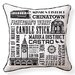 <strong>Naked Decor</strong> San Francisco Neighborhoods Pillow