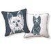 <strong>Yorkshire Terrier Pillow</strong> by Naked Decor