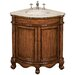 "Belle Foret 32.75"" Single Corner Vanity Set"