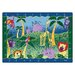 Literacy Alphabet Jungle Kids Rug