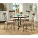 <strong>Thompson 5 Piece Dining Set</strong> by Steve Silver Furniture