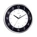 "<strong>14"" Round Dome Glass Wall Clock</strong> by Opal Luxury Time Products"