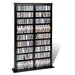 <strong>Floor Media Double Width Barrister Multimedia Storage Rack</strong> by Prepac