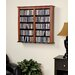 Prepac Floating Wall Mounted Double Multimedia Storage Rack