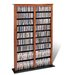 Double Barrister Multimedia Storage Rack