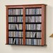 <strong>Floating Wall Mounted Double Multimedia Storage Rack</strong> by Prepac