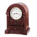 <strong>Anniston Mantel Clock</strong> by Bulova