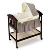 <strong>Classic Comfort™ Wood Bassinet</strong> by Summer Infant