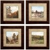 Propac Images Western 4 Piece Framed Painting Print Set
