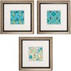 <strong>Propac Images</strong> Cottage 3 Piece Framed Graphic Art Set