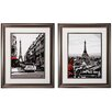 Propac Images Paris 2 Piece Framed Graphic Art Set