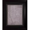 Propac Images City Map of New York Framed Graphic Art