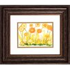 Propac Images Sunlit Poppies 2 Piece Framed Painting Print Set