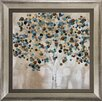 Propac Images A Teal Tree Framed Graphic Art