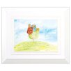 Propac Images Snail Owl 2 Piece Framed Painting Print Set