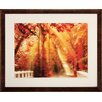 Propac Images Red For Rest Framed Wall Art