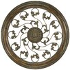 <strong>Paragon</strong> Aged Round Vine Medallion Wall Décor