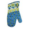Textiles Plus Inc. Printed Three Pots of Flower Oven Mitt (Set of 2)