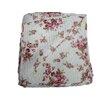 "Textiles Plus Inc. 100% Cotton Quilted Vintage Rosie Reversible 50"" x 60"" Throw"