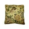 Textiles Plus Inc. Jacquard Golden Romance Square Cushion