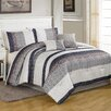 <strong>Textiles Plus Inc.</strong> Metropolitan 6 Piece Comforter Set