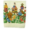 Textiles Plus Inc. Printed Bird House Kitchen Towel (Set of 2)