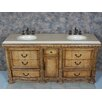 "<strong>Caroline 72"" Double Bathroom Vanity Set</strong> by Global Treasures"