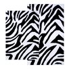 <strong>Chesapeake Merchandising Inc.</strong> Safari Zebra Contemporary Bath Rug (2 Piece Set)