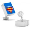 <strong>Cufflinks Inc.</strong> DC Comics Silver Plated Superman 4GB USB Cufflinks
