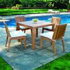 <strong>Mendocino Square Dining Set</strong> by Kingsley Bate