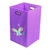Nuby Butterfly Folding Laundry Bin