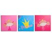 <strong>Nuby</strong> 3 Piece Princess Canvas Art