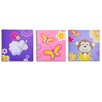 <strong>3 Piece Jungle Girl's Canvas Art Set</strong> by Nuby