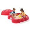 Step2 Crabbie 4' Rectangular Sandbox with Cover