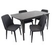 LumiSource Tintori 5 Piece Dining Set