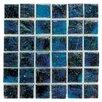 "Daltile Elemental 0.75"" x 0.75"" Glass Mosaic Tile in Cornflower"