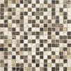 "Daltile Stone Radiance 5/8"" x 5/8"" Mosaic Tile Blend in Morning Sun / Tortoise / Mushroom"