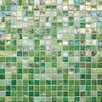 "Daltile City Lights 1/2"" x 1/2"" Ceramic Unpolished Mosaic in Green"