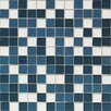 "Daltile Keystones Blends 1"" x 1"" Plain Porcelain Mosaic Tile in Horizon"