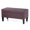 <strong>Skyline Furniture</strong> Storage Ottoman