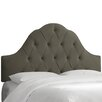 Skyline Furniture Velvet Arched Upholstered Headboard