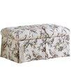 Skyline Furniture Roberta Upholstered Storage Bedroom Bench
