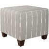 <strong>Skyline Furniture</strong> Menton Square Ottoman