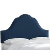 <strong>Velvet Upholstered Headboard</strong> by Skyline Furniture