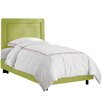 Skyline Furniture Border Micro Suede Youth Bed