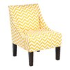 Skyline Furniture Zig Zag Swoop Armchair