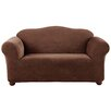 <strong>Sure-Fit</strong> Stretch Pique Loveseat Slipcover
