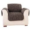 Sure-Fit Matelasse Damask Chair Slipcover