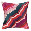 Trina Turk Malibu Square Embroidered Pillow